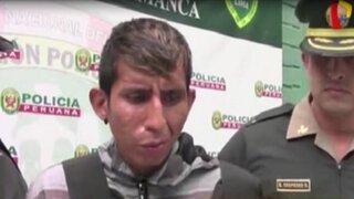 Huaycán: cae sujeto implicado en asalto a ferretería