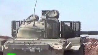 Enfrentamientos contra rebeldes continúan en Siria