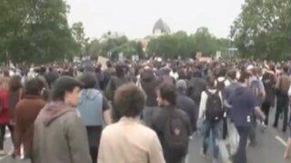 Francia: ciudadanos vuelven a protestar contra reforma laboral