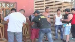 Policía presenta balance de operativo en el Callao