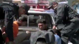 Capturan a delincuentes que asaltaron agencia bancaria en Piura