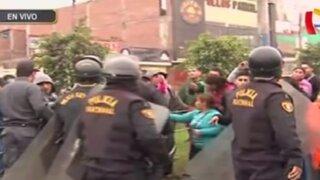 Jicamarca: vecinos se oponen a nuevo corredor SJL- Rímac