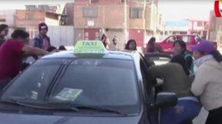 Huancayo: familiares agreden a presunto asesino de joven diseñadora