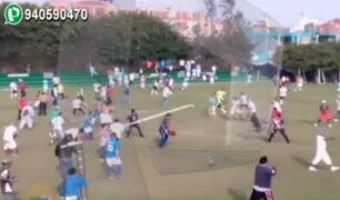 San Borja: Destrozos en polideportivo por Copa Perú