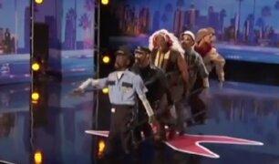 EEUU: artista callejero sorprendió en programa de talentos