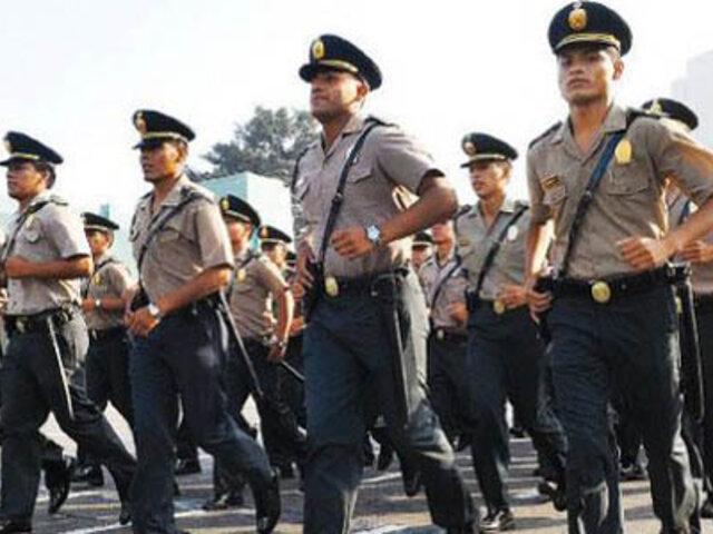 Unos 9 mil policías resguardarán seguridad en Lima durante elecciones