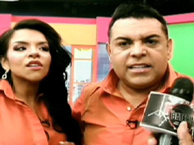 Andrés Hurtado y su hija Josetty son los nuevos conductores de Día a Día