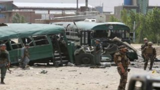 Afganistán: doble atentado suicida deja 40 muertos