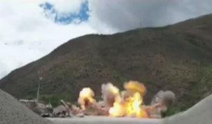Huánuco: destruyen maquinaria que era utilizada para minería ilegal