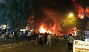 Irak: Al menos 23 muertos tras atentado en Bagdad