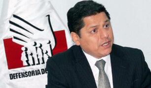 Defensoría del Pueblo expresa preocupación por denuncia contra Panorama