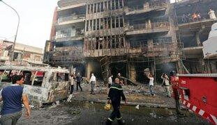 Se incrementa a 165 el número de muertos tras atentado en Bagdad