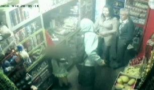Surco: asaltan bodega en presencia de una niña de 5 años
