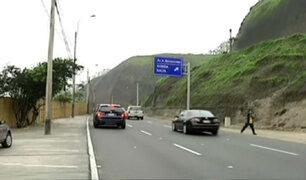 Costa Verde: 'carriles fantasmas' provocan cientos de accidentes