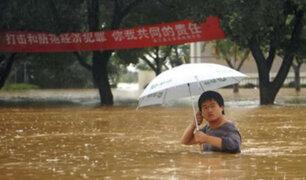 Inundaciones provocan más de 180 muertos en China