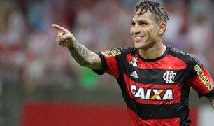Paolo Guerrero sigue recibiendo elogios en Brasil