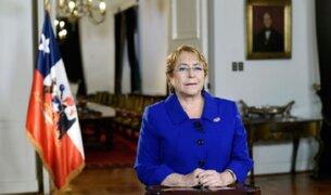 Michelle Bachelet anuncia educación superior gratuita en Chile