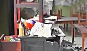 Trujillo: lanzan explosivo contra jardín de niños