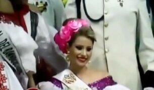 Colombia: modelo le arrebató corona a ganadora de concurso de belleza