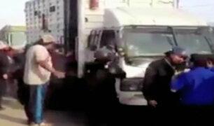 Constantes abusos de fiscalizadores contra ambulantes en Ate