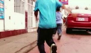 Banda de niños asaltantes en Ate