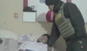 Huancayo: sujeto se hace el dormido para evitar detención