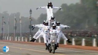 La espectacular exhibición de motociclismo extremo que se volvió viral