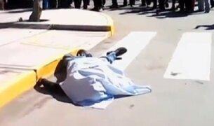 Arequipa: hombre muere por defender a mujer víctima de maltratos