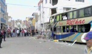 Accidente de bus dejó seis muertos en La Libertad