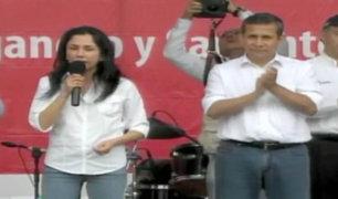 Nadine Heredia critica a la oposición