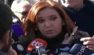 Argentina: Cristina Fernández se presenta ante los tribunales