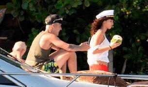 Justin Bieber se divierte con 'doble' de Selena Gómez