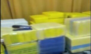 Andahuaylas: policía incautó 300 kilos de cocaína