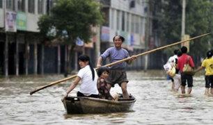 Precipitaciones y corrientes de lodo afectan varias provincias de China