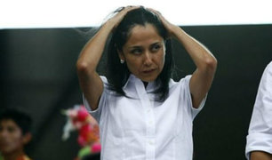 Nadine Heredia pagará 50 000 soles de caución por investigación en su contra