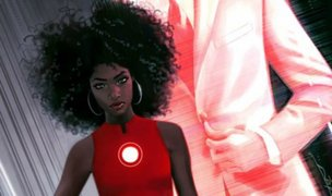 Presentan versión femenina y afroamericana de 'Iron Man'