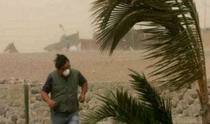Inusuales vientos provocan estragos en Chile