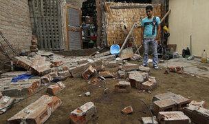 Los Olivos: dos hermanitos mueren aplastados por una pared