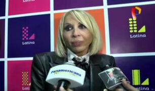 Laura Bozzo habló de todo en su regreso a Lima