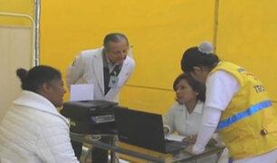 Internas de penal de Chorrillos reciben atención médica gratuita