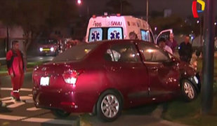 Siete heridos dejó racha de accidentes en Lima