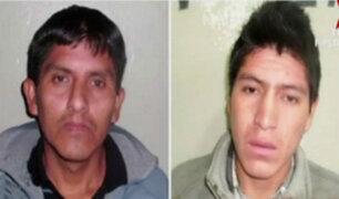 Huánuco: recapturan a dos sujetos que fugaron de penal en La Oroya