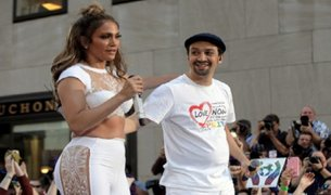 JLo y Lin Manuel Miranda lanzan canción en homenaje a víctimas de Orlando