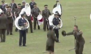 Banda de las Fuerzas Armadas de Perú sorprendió en Argentina