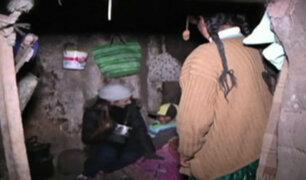 Heladas y fríaje en Puno