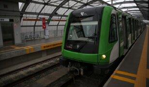 Metro de Lima: trenes de la Línea 1 pasarán cada tres minutos