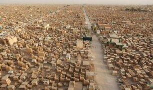 Así es el cementerio más grande del mundo