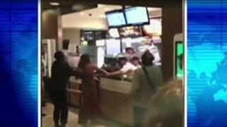 Holanda: mujeres arman escándalo en restaurante