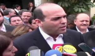 Fernando Zavala se reúne con bancadas de PPK y APP