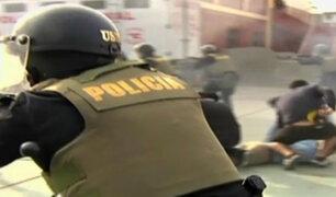 Policía presenta plan de acción para erradicar actos violentos de las barras bravas